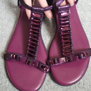 Cole Haan Nike Air jeweled sandals sz. 9